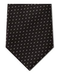 Paul Smith - Black Naked Lady Pin Dot Tie for Men - Lyst