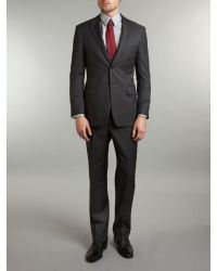 Paul Smith Black Will Pindot Suit for men