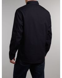 Paul Smith - Black Shirt Jacket for Men - Lyst