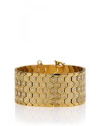 Rebecca Minkoff | Metallic Hexagon Bracelet | Lyst