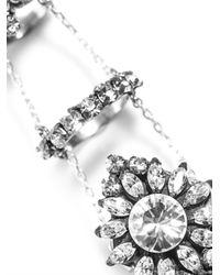 Shourouk - Metallic Bernadette Chain Link Ring - Lyst