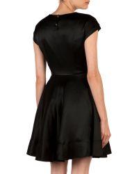 Ted Baker Black Haydaa Full Skirt Dress