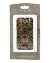 Ted Baker Multicolor Deer Print Hard Phone Case