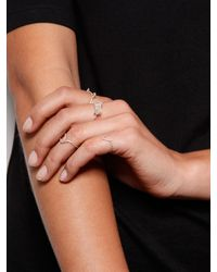 Five And Two - Metallic Sterling Silver Tidal Ring - Lyst