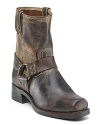 Frye Brown Mens Harness 8r Boots for men