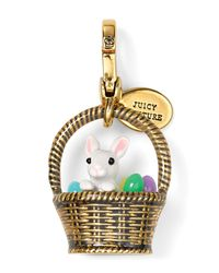 Juicy Couture Metallic Limited Edition Easter Basket Charm