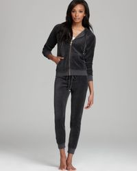 Juicy Couture Gray Hoodie Relaxed