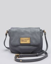 Marc By Marc Jacobs Gray Crossbody Classic Q Isabelle