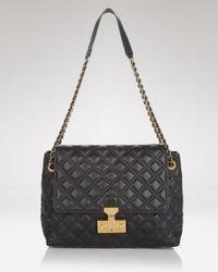 Marc Jacobs Black Shoulder Bag Quilted Baroque Xl Single