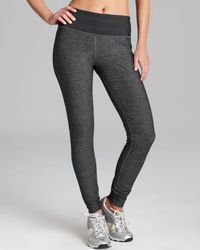 Moving Comfort Gray Urban Gym Workout Tights