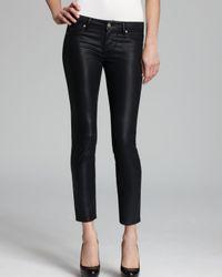 PAIGE Jeans - Verdugo Ultra Skinny Ankle In Black Silk
