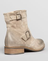 Paul Green Gray Booties Ramsay Buckle