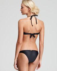 Pilyq Glam Black Eyelet Cut Out One Piece Monokini Swimsuit