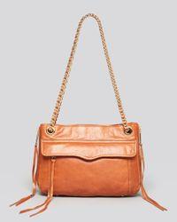 Rebecca Minkoff Brown Shoulder Bag Swing Leather