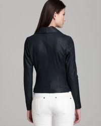 Vince Black Jacket - Paper Leather Scuba