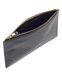 Whistles Brown Small Clutch Pouch Handbag