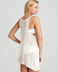 Wildfox White Shell Necklace Tank Dress