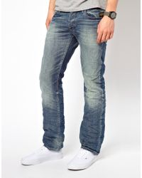 G-Star RAW Blue Arc 3d Slim Jeans Light Medium Aged for men