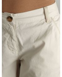 Linea Weekend Natural Chinos with A Grosgrain Trim