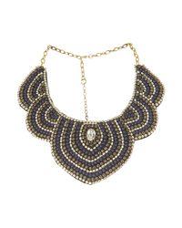Mary Portas Multicolor Circular Detail Necklace
