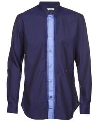 Moschino | Blue Classic Collar Dress Shirt for Men | Lyst
