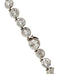 Olivia Collings - Metallic 18karat Gold Silver and Quartz Necklace - Lyst