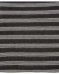 T By Alexander Wang Black and White Striped Long Sleeve Top