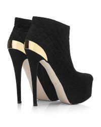 Carvela Kurt Geiger Black Garter Shoe Boot
