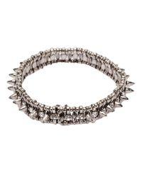 Philippe Audibert Metallic Amelia Aby Bracelet