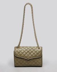 Rebecca Minkoff Blue Shoulder Bag - Quilted Mini Affair