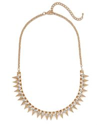 BaubleBar - Metallic Gold Ice Spike Strand - Lyst