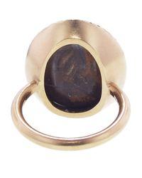 Irene Neuwirth - Blue Oval Boulder Opal Ring - Lyst