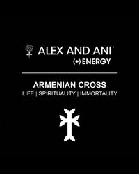 ALEX AND ANI Metallic Armenian Cross Bangle