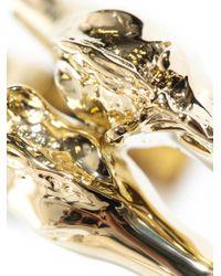 Chloé - Metallic Double Horse Head Bracelet - Lyst
