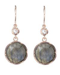 Irene Neuwirth - Gray Rose Cut Labradorite Earring - Lyst