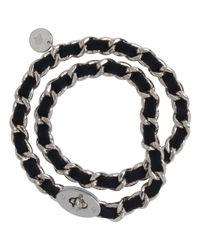 Mulberry Black Bayswater Chain Bracelet