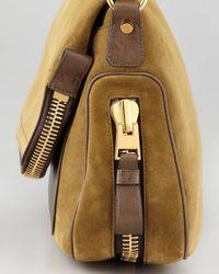 Tom Ford Brown Jennifer Medium Leather Crossbody Bag