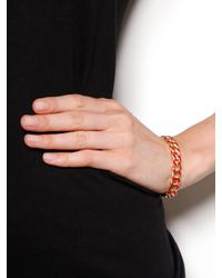 BaubleBar - Metallic Mini Ivory Link Bangle - Lyst