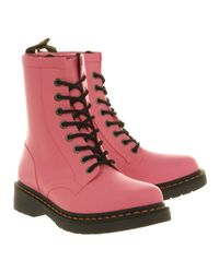 Dr. Martens 8 Eyelet Welly Pink