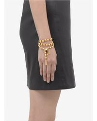 Ela Stone - Metallic Bree Beaded Wrap Bracelet - Lyst