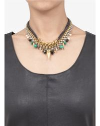 Ela Stone - Multicolor Angelica Multi-chain Necklace - Lyst