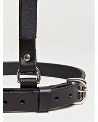 Fleet Ilya Black Womens Suspender Harness