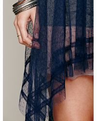 Free People Blue Tea For Two Slip