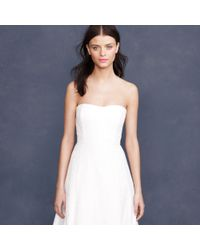 J.Crew White Laura Lace Gown