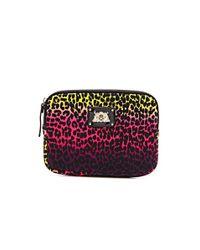 Juicy Couture Multicolor Ombre Leopard Ipad Mini Zip Around Case