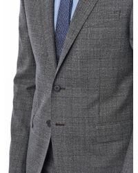 Paul Smith | Gray Textured Window Pane Suit for Men | Lyst