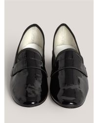 Repetto | Black Michael Patent-leather Slip-ons | Lyst