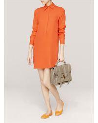 Repetto - Orange Flora Toecap Ballerina Flats - Lyst