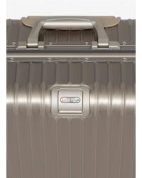 Rimowa Metallic Topas Titanium Multiwheel® (titanium, 64-litre)