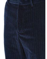 Trussardi - Blue Giant Corduroy Trousers for Men - Lyst